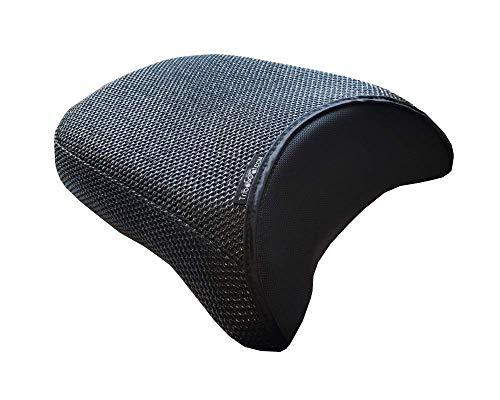 TRIBOSEAT Cubierta Asiento Antideslizante Accesorio Personalizado Negro Compatible con Benelli 502 TRK