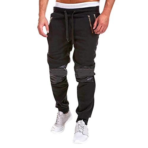 FRAUIT herfst winterbroek heren ritssluiting katoen joggingbroek heren basic gym workout fleece sportieve jogger pant warm comfortabel slijtvast super kwaliteit broek jeans pants