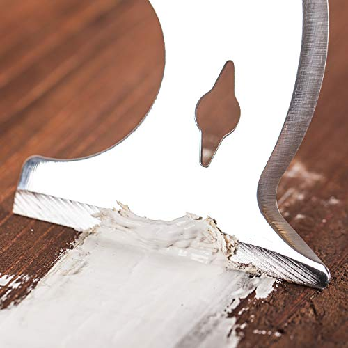 Bates- Paint Scraper, 10 in 1 Painters Tool, Paint Scrapers for Wood, Painters Tool, Painters Knife, Paint Scraper for Painting, Putty Knife, Metal Scraper, Spackle Tool, Putty Scraper, Knife Scraper