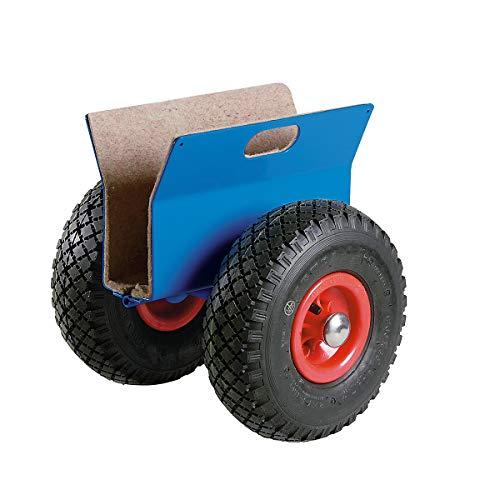Plattenroller Tragfähigkeit 250 kg - Luftreifen - Plattenaufnahme 15 – 70 mm - Pannensichere Plattenroller Pannensicherer Plattenroller Plattenroller pannensicher Plattenwagen Plattenroller