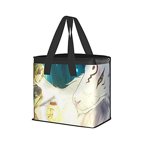 Natsume'S Book Of Friends - Bolso de deporte con compartimiento de moda, portátil, bolso de la compra, diseño de dibujos animados, regalos populares