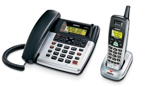 Uniden CXAI5698 5.8 GHz Extended Range Corded/Cordless Phone and Answering System