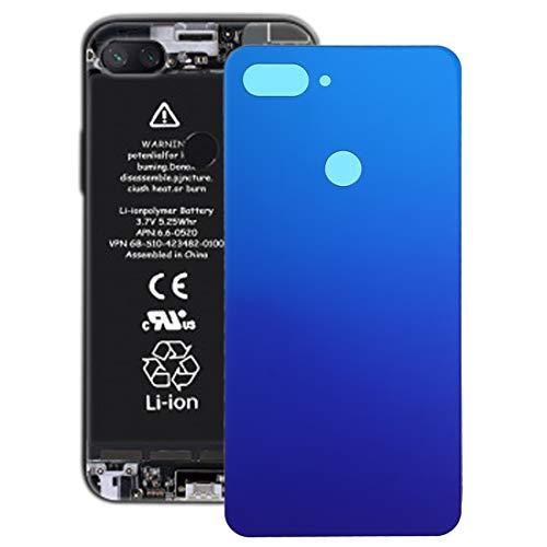 LBSJW Tapa de la batería La batería Cubierta Trasera for Xiaomi MI 8 Lite (Blanco) Pannello posteriore (Color : Twilight Blue)