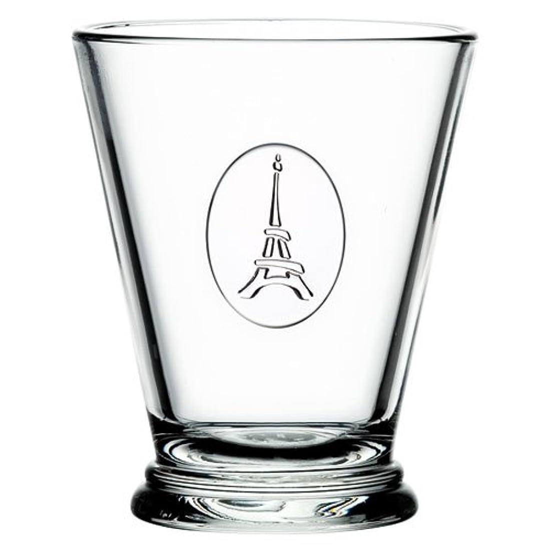 疫病掃く拍車La Rochere トゥールエッフェル タンブラー 260cc クリア φ8.5×H10.5cm