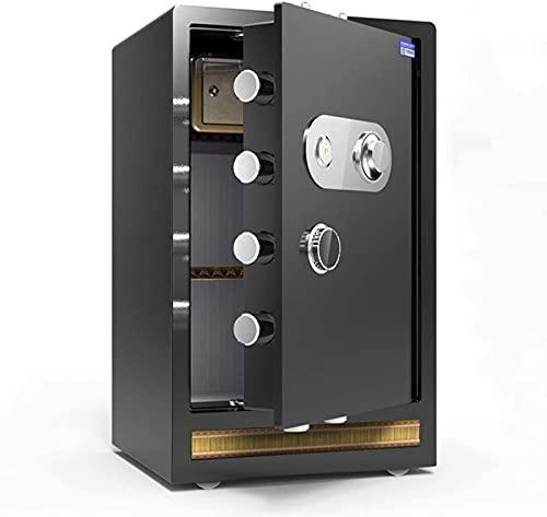 FDGSD Caja Fuerte a Prueba de Fuego, Oficina en casa, Caja de Almacenamiento de Seguridad con contraseña mecánica Grande, gabinete para Archivos de Seguridad antirrobo y antitaladro, fácil de oper