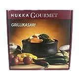 Stufato di pietra ollare Grillikasari, Ø 13 cm, capacità 0,5 litri per grigliare, cucinare, brasare o tenere in caldo il cibo