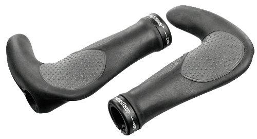 ergotec Lenkergriffe Aksb-09.2/2, schwarz/grau, 61535001