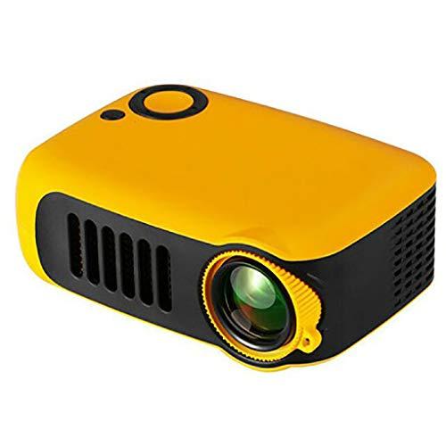 Projector voor Children's Toy, 320 X 240P ondersteuning 1080P, compatibel HDMI/USB/AV/TF-kaart, audio-uitgang Micro SD Card Slot Interface, voor Gift Children