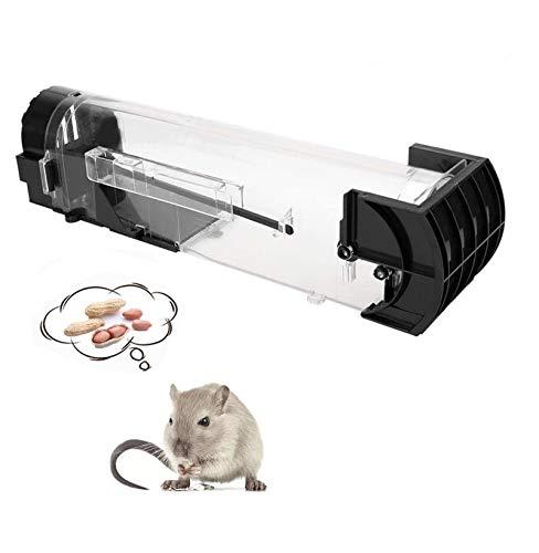 Funmo -Trampas para Ratones, Trampa para roedores, Trampa para Ratas Reutilizable, Trampa para Captura y liberación (1 Piezas)