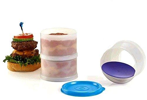 Tupperware Set mit 3 Eiscreme-Sandwich-Maker/Schiebern, Sandwich-Maker-Formen.