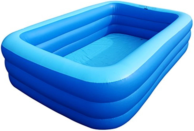 RUNWEI Badewanne tragbare badefass Dicke warme Erwachsene Kinder aufblasbare Pool einfache Dekoration (Farbe   A)