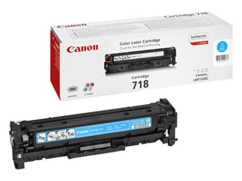 Canon 718 C original Toner Cian für ISensys Laserdrucker
