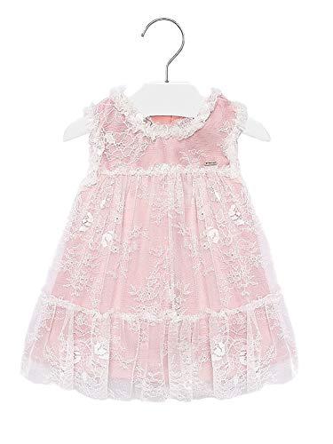 Mayoral 20-01905-071 - Vestido para bebé niña 12 Meses