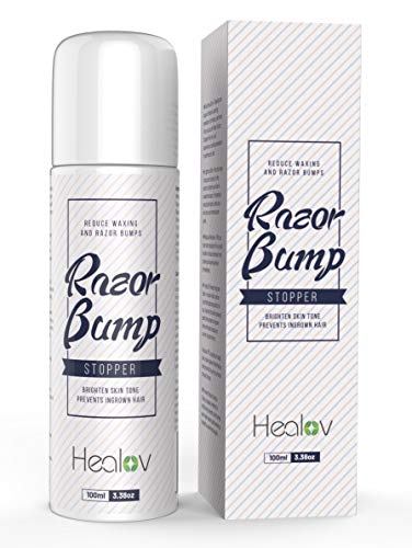 Roll On Razor Bump Treatment for Bikini Area, Legs, Underarms, Groin, Face – Natural Post Shaving & Waxing Dark Spot Removal Ingrown Hair Razor Burn Relief Ointment Solution for Women & Men