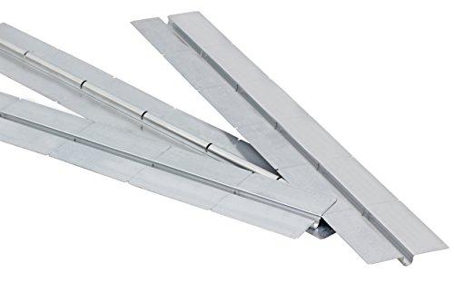 Wärmeleitblech/Wärmeleitlamellen mit Sollbruchstelle für Fußbodenheizung (50 Stück, 37,5 m)