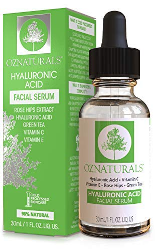 Sérum d'acide hyaluronique  OZ Naturals