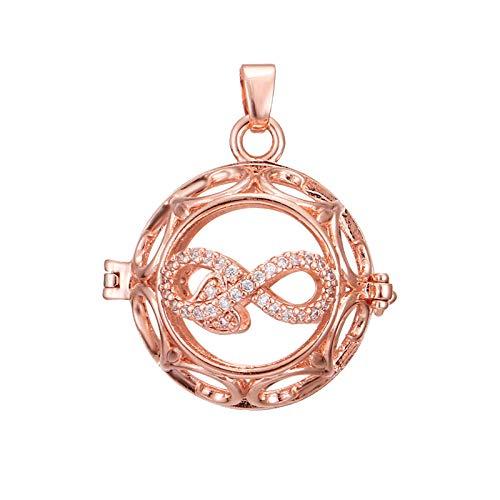 Preisvergleich Produktbild Ätherisches Öl Diffusor Halsketteliebesduftkette Mit Zirkon