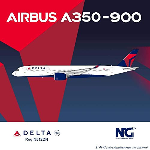 NG Model NGM39006 1:400 Delta Airlines Airbus A350-900 Reg #N512DN (pre-Painted/pre-Built)