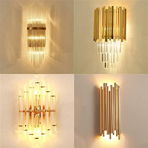 Wandlamp woonkamer verlichting hoofdlamp glas vintage @ zie afbeelding