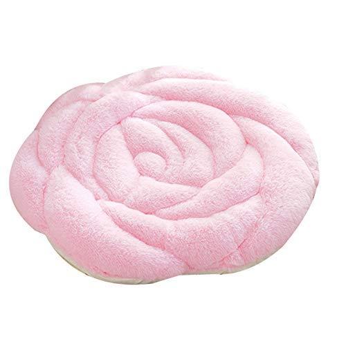 SUNTAOWAN Crystal Franela Almohada cojín de Asiento Comfort Rose Asiento del cojín del Asiento del Acogedor Almohada Alivia el Dolor de Espalda de Socorro Silla Cojines for el hogar