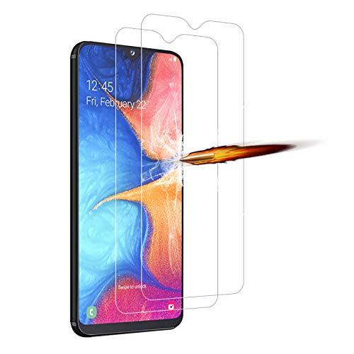 ANKENGS Kompatibel mit Samsung Galaxy A20e Panzerglas [2er Pack], [Kratzfest] [Anti-Schaum] Kompatibel mit Samsung A20e Displayschutzfolie