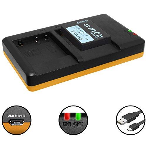 Akku + Dual-Ladegerät (USB) für DMW-BCG10(E) / Panasonic Lumix DMC-TZ10, TZ18, TZ20, TZ25, TZ27, TZ30, TZ31, TZ65 / ZS6, ZS7, ZS8, ZS9, ZS10, ZS15, ZS20…. - s. Liste! (inkl. Micro-USB-Kabel)