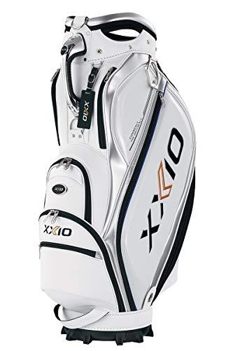 DUNLOP(ダンロップ) キャディバッグ メンズ XXIO GGC-X109 ホワイト ゴルフバック
