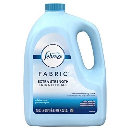 Febreze Air Freshener, Extra Strength Fabric Refresher Refill Air Freshener, Original Scent, 67.6oz