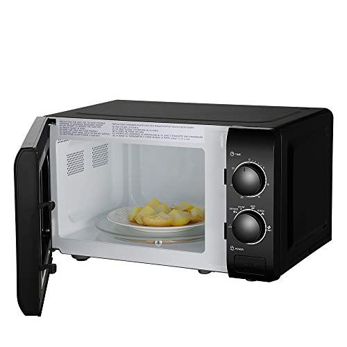 ZOKOP 20L/0.7cuft Microwave Convection Oven Combo Countertop,Countertop Microwave Oven with Six Power Levels,Glass Tray (Black)