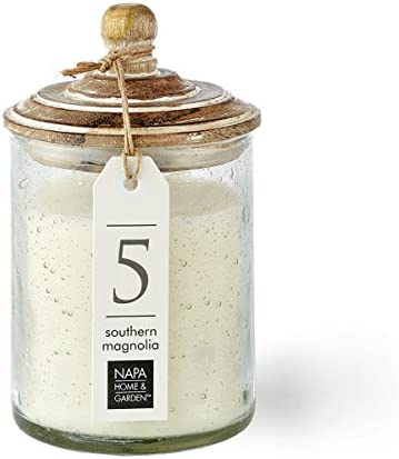 Southern Magnolia Gray Oak Soy Wax Scented Jar Candle by Napa Home product image