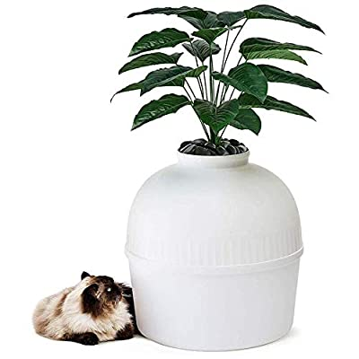 AOIWE Secret Cat Litter Box High-Level Invisible Cat Litter Box Cat Litter Closed Cat Box Furniture Suitable for Large Cats