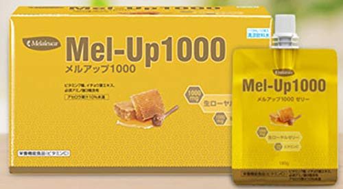 Melaleuca(メラルーカ) メルアップ 1000 ゼリー 6パック入りセット 疲れた体をローヤルゼリーがリセット