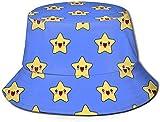 DUTRIX Sombrero de pescador con diseño de flamenco, color azul, para adultos,...