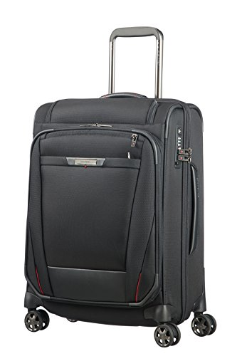 SAMSONITE PRO-DLX 5 - Mobile Office Spinner 56 Quickaccess - 3.3 KG Koffer, Magnetic Grey
