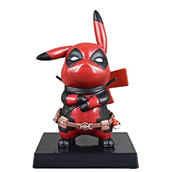 MizzZee Pikachu Cosplay Model Gifts Anime Action Figure Toys Gifts