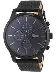 لاكوست ساعة رسمية للرجال , جلد , 2010947
