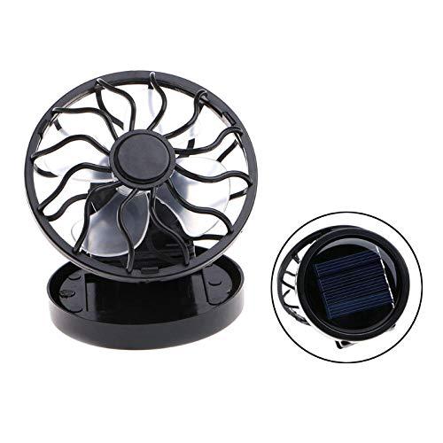 FHSMRING Clip portátil en Panel Solar Powered Cofring Fan for Travel Camping Pesca pequeño Ventilador (Color : 2)