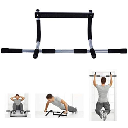 LIfav Doorway Pull Up Chin Up Bar, Upper Body Workout Bar, for Home Gym Exercise Fitness, Load 100Kg/220Lb, Best Gift
