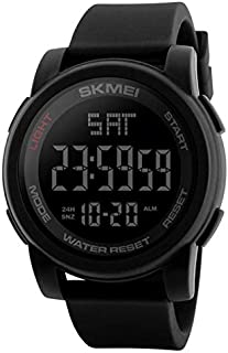 SKMEI Digital Dial Men's Watch-1257 Black