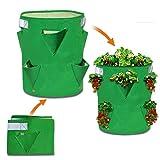 Strong Camel Planter Bag Felt Fabric Garden Planting Bag Grow Strawberry and Herb Plant Tub
