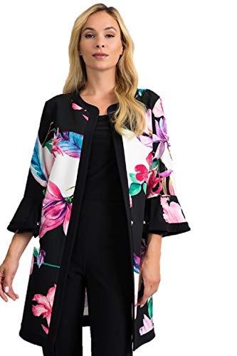 Joseph Ribkoff Black & Multicolor Jacket Style 201292 - Spring 2020 Collection (18)