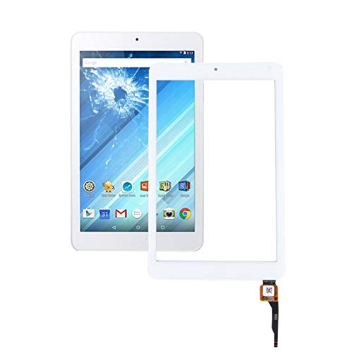 Gaopeng parts Touch Panel for Acer Iconia One 8 / B1-850 (White) (Color : White)