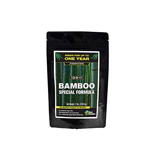 Bamboo Special 12 Month Control Release 13-5-11 High Nitrogen Fertilizer - 2 Pound Package