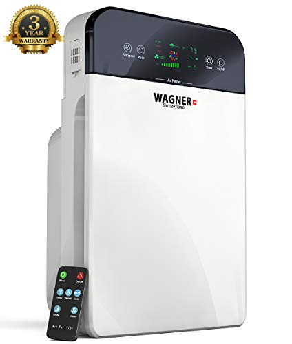 WAGNER Switzerland Premium Air Purifier H885, Swiss i-Sense Technology, for...