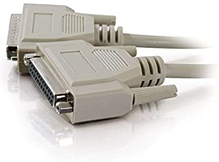 C2G 02657 DB25 M/F Serial RS232 Extension Cable, Beige (100 Feet, 30.48 Meters)
