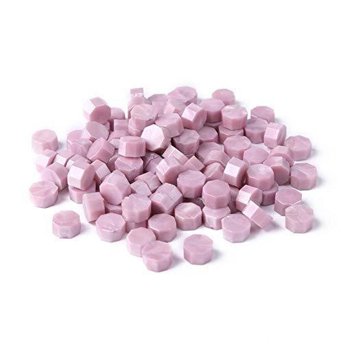 Cire Seal Stamp Tablet Multi Color 100pcs Vintage Pill Perles Grain pour Enveloppe De Mariage Perles De Cire Granular Grain De Mariage, WaxA, Chine