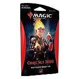 Magic The Gathering: Core Set 2020 - M20 - Paquete de Refuerzo, Color Rojo