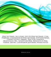 Articles on Wiki Software, Including: List of Wiki Software, Cliki, Pukiwiki, Comparison of Wiki Software, Phptiddlywikis,...