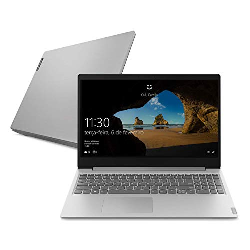 "Notebook Lenovo Ultrafino ideapad S145 i5 - 8265U 8GB 1TB Windows 10 15.6"" Dolby Audio Design Leve e Compacto, Prata"