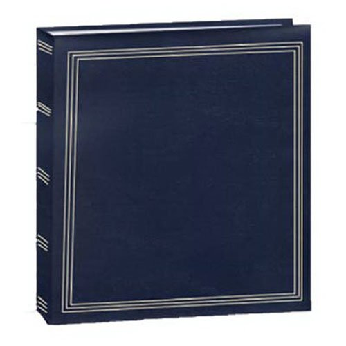 Pioneer Photo Albums TR-100 Magnetic 3-Ring Photo Album 100 Page, Colors May Vary